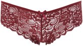 Charlotte Russe Caged-Back Lace Cheeky Panties