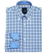 Tailorbyrd Boys' Textured Woven Check Shirt - Sizes 8-18