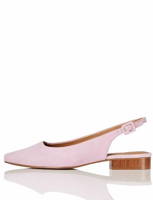 Find. Amazon Brand Flat Slingback Chisel Toe Ballet