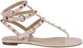 Valentino Garavani Rockstud Flat Flip-flop Sandal
