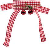 Miu Miu cherry pendant gingham bracelet