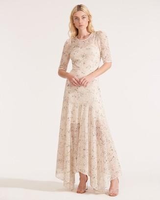 Veronica Beard Balsam Eyelet Chiffon Dress