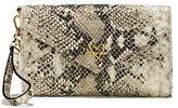 Victoria's Secret Victorias Secret V-Quilt Wild Python Tech Clutch