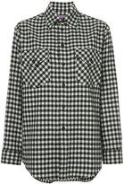 Ralph Lauren gingham check flannel shirt