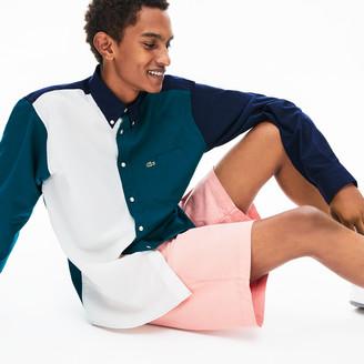 Lacoste Men's Color-Block Cotton Shirt