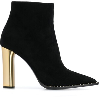 Casadei 100mm Ankle Boots
