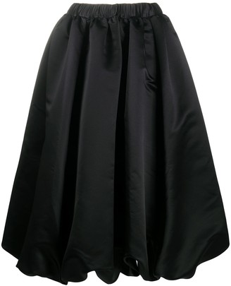 Comme des Garcons Pleated Mid-Length Skirt