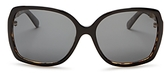Kate Spade Darilyn Oversized Polarized Square Sunglasses, 58mm