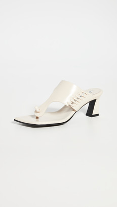 Reike Nen Stitch Flip-Flop Heels