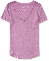 Aeropostale V-Neck Pocket Tee