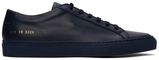 Common Projects Navy Achilles Low Sneakers