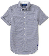 Ralph Lauren Little Boys 2T-7 Checked Short-Sleeve Oxford Shirt