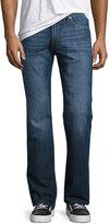 DL1961 Premium Denim Vince Straight-Leg Jeans, Blue