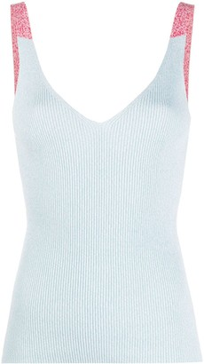 Mrz Ribbed Sleeveless Top