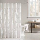 INK + IVY INK+IVY Masie Cotton Shower Curtain