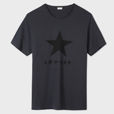 Paul Smith For David Bowie - Navy ★ (Blackstar) Print T-Shirt