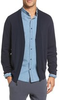Vince Men's Zip Front Cotton Cardigan