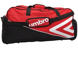 Umbro Pro Training Large Holdall Red/White/Black