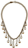 Miriam Haskell Crystal Bead Necklace