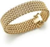 Bloomingdale's 14K Yellow Gold 4-Row Link Bracelet - 100% Exclusive