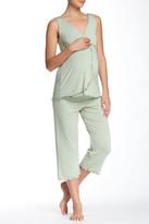 Majamas Pachisi Maternity/Nursing Pajama Set (Maternity)