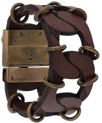 Gianfranco Ferré Pre Owned 2000s Chain Link Bracelet