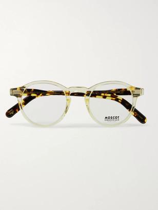 MOSCOT Miltzen Round-Frame Acetate Optical Glasses