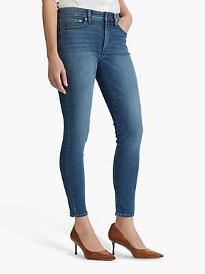 Ralph Lauren Ralph Regal Skinny Ankle Jeans, Harbour Wash Denim