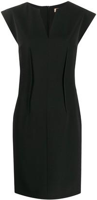 Blanca Vita Exposed-Dart Pencil Dress