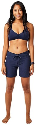 Carve Designs Noosa Short (Navy) Women's Shorts