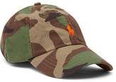 Polo Ralph Lauren Camouflage-print Cotton Baseball Cap - Army green