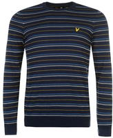 Lyle And Scott Pick Stitch Knitted Jumper