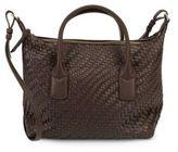 Cole Haan Lena Large Basketweave Shoulder Bag