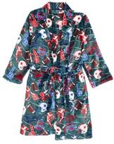 Boy's Sovereign Athletic Football Fleece Robe