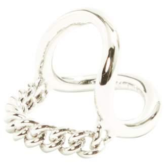 Maison Margiela \N Silver Steel Rings