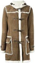Liska - shearling duffle coat - women - Lamb Skin/Lamb Fur - 46