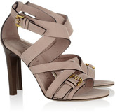 Burberry Shoes & Accessories Buckled leather sandals