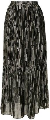 Reinaldo Lourenço Embellished Maxi Skirt