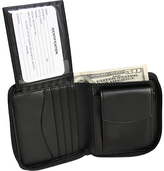 Royce Leather Zip Around Wallet 120-6