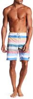 Ezekiel Killua Stripe Print Board Shorts