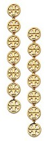 Tory Burch Linear Logo Earring