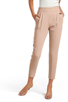 Forever New Zoe Petite Pleated Elastic Back Pants