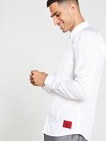 Hugo Ero3 Long Sleeved Shirt - White