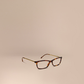 Burberry Metallic Detail Cat-eye Optical Frames