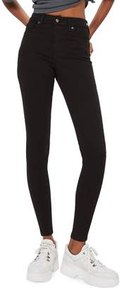 Topshop Black Jamie Jeans 34-Inch Leg