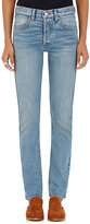 RE/DONE Women's The Straight Skinny Jeans-Light Blue