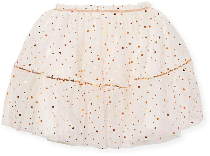 Billieblush Baby Girl's & Little Girl's Polka Dot Skirt