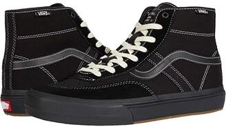 Vans Crockett High Pro (Black/Black) Men's Shoes