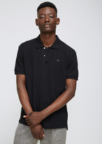 Comme des Garcons Black Small Black Heart Polo