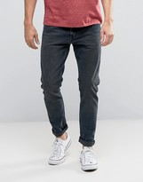 Levis 512 Slim Taper Fit Five Striped Sparrow Grey Wash